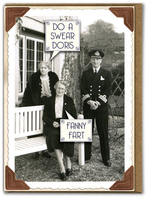 Fanny Fart Birthday Card