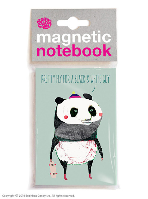 Pretty Fly Magnetic Notebook