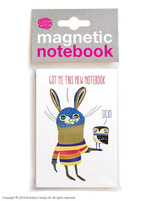 Sick Magnetic Notebook