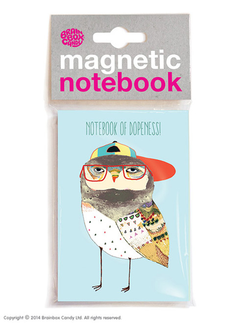 Dopeness Magnetic Notebook