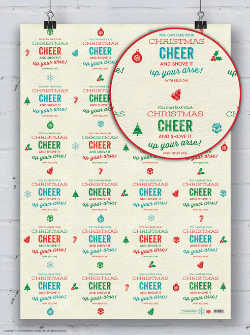 Turkey Sandwich Christmas Gift Wrap