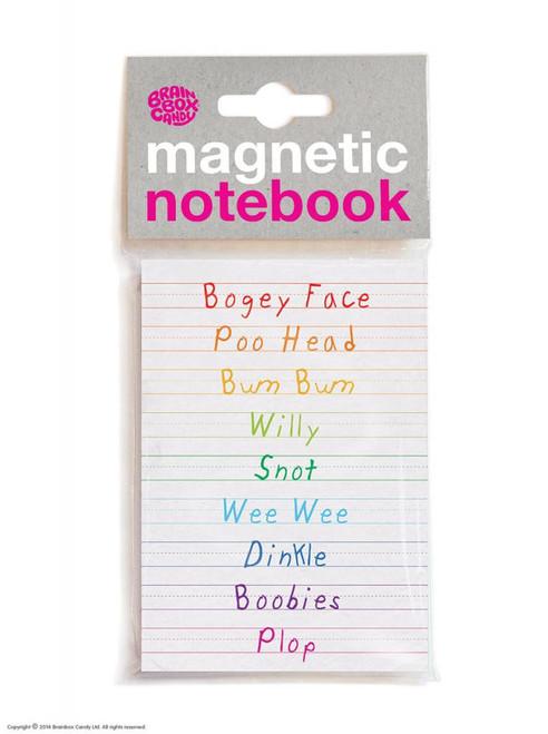 Bogey Face Magnetic Notebook