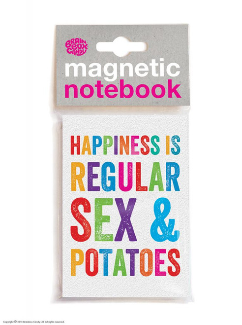 Sex and Potatoes Magnetic Notebook
