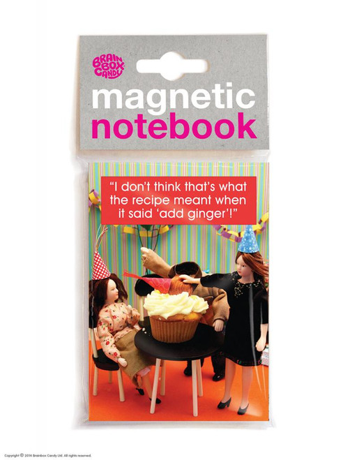 Ginger Cake Magnetic Notebook
