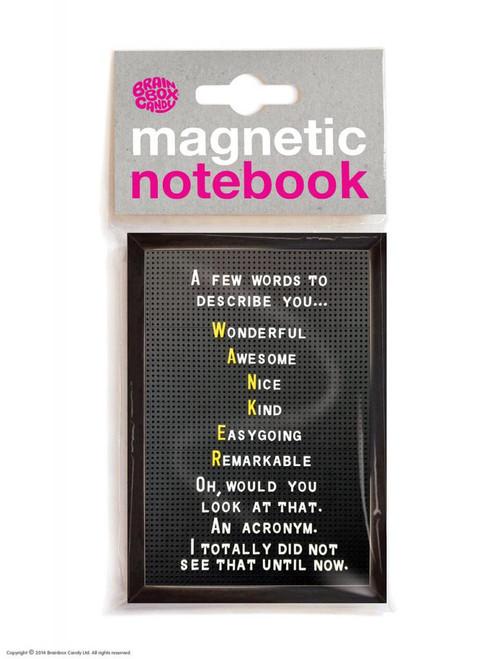 W@nker Acronym Magnetic Noteook