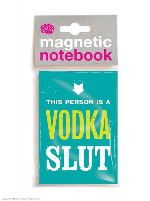 Vodka Slut Magnetic Notebook