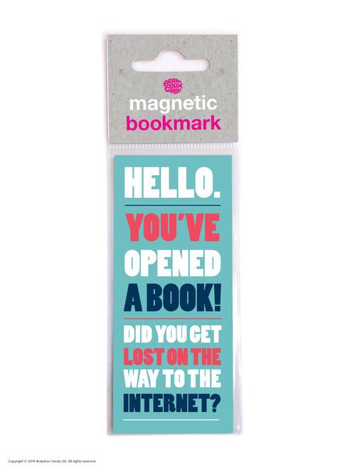 Hello Magnetic Bookmark