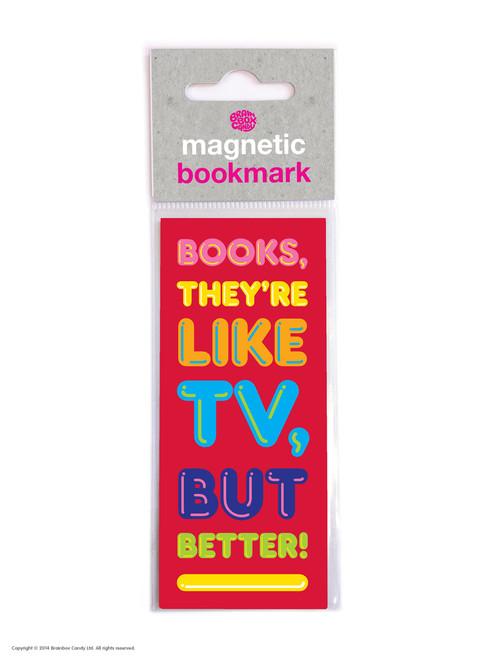 Like TV But Better Magnetic Bookmark