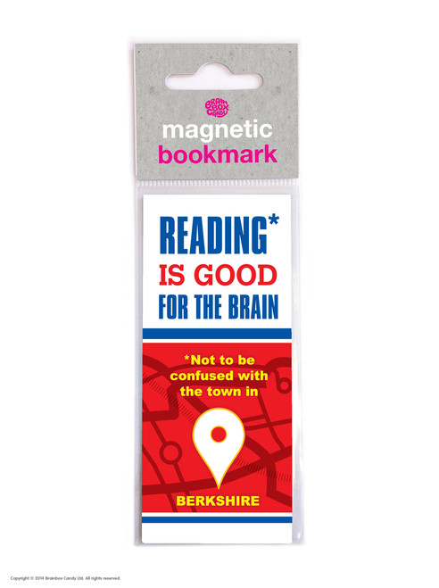 Reading Berkshire Magnetic Bookmark