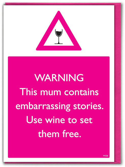 Embarrassing Stories Birthday / Mother's Day Card