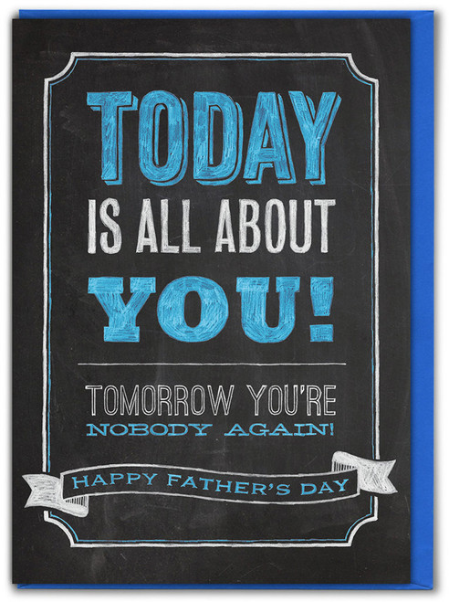 All About You Fathers's Day Card