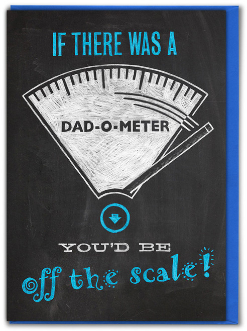 Dad-O-Meter Father's Day Card