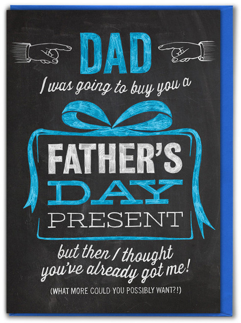 Father's Day Present Father's Day Card