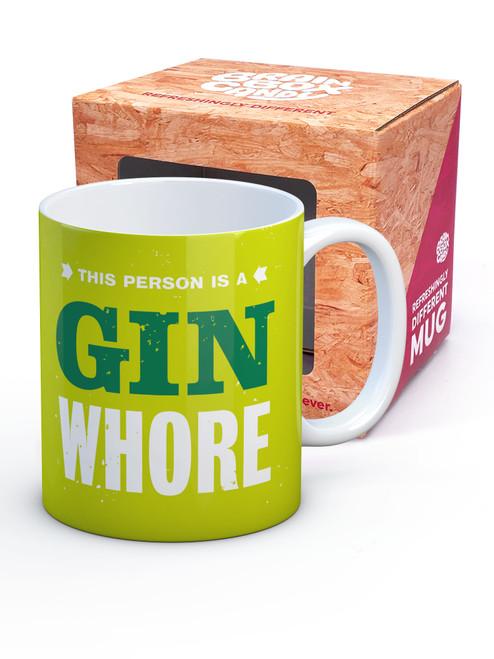 Gin Whore Boxed Mug