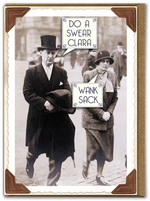 Wank Sack Birthday Card