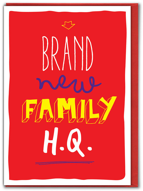 Brand New Family HQ New Home Card