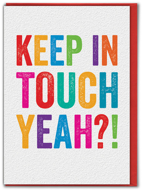 Keep In Touch Yeah