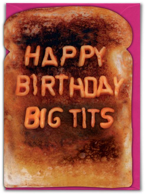Big Tits Birthday Card