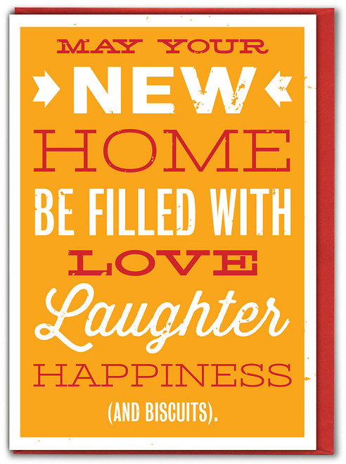 New Home Biscuits Greeting Card