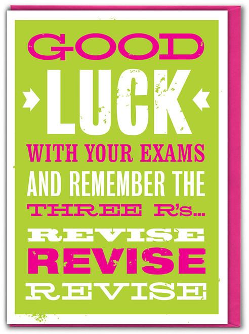 Good Luck Exams Card