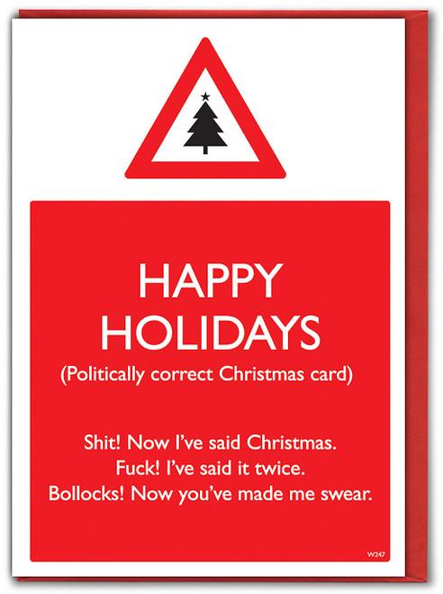 Politically Correct Christmas Card
