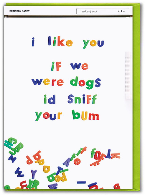 If We Were Dogs Birthday Card