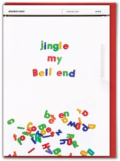 Jingle My Bell End Christmas Card