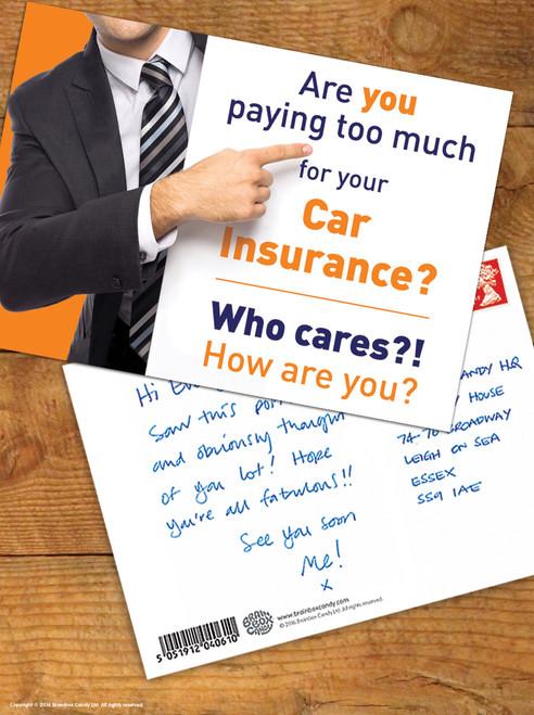 Car Insurance Postcard