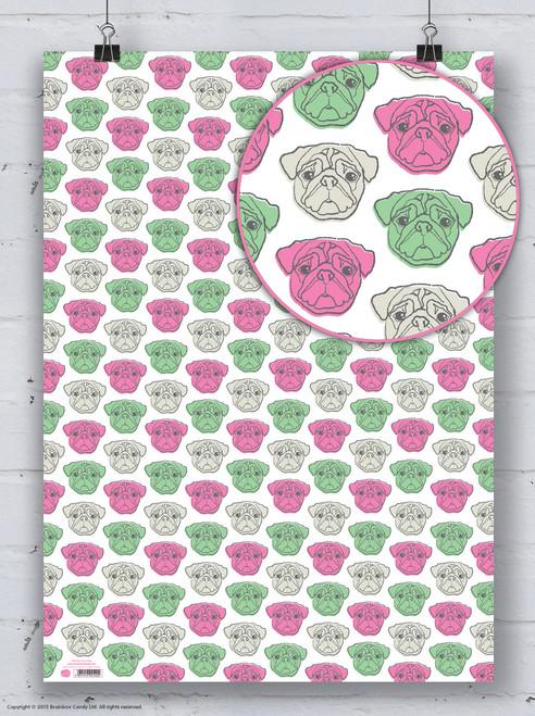 Pug Gift Wrap