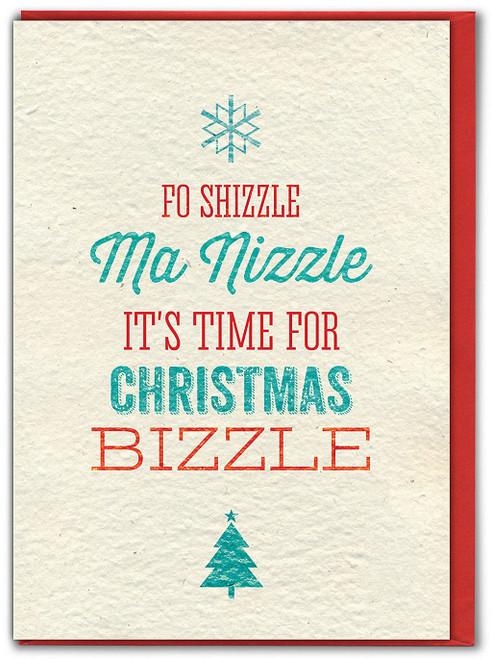 Christmas Bizzle Christmas Card