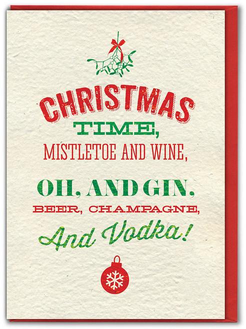 Christmas Time Christmas Card