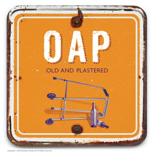 Old And Plastered Coaster