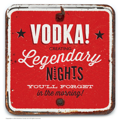 Vodka Nights Coaster