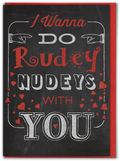 Nudey Rudeys Valentine's Day Card