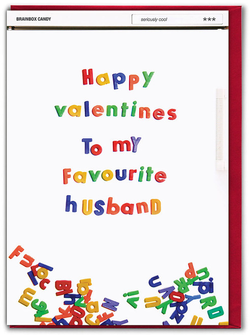 Favourite Husband Valentine's Day Card