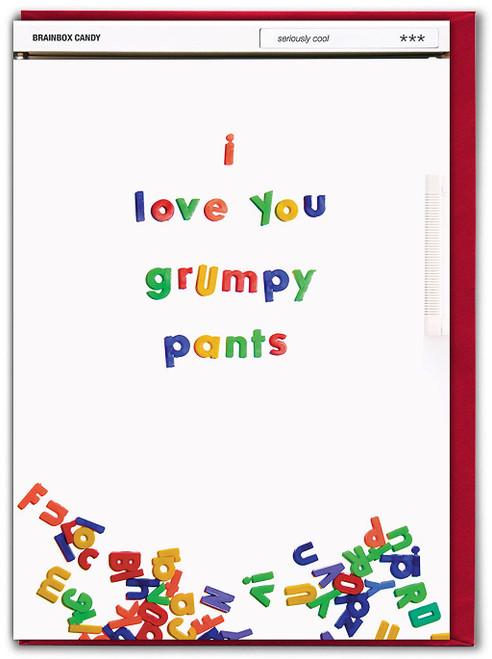 Grumpy Pants Valentine's Day Card