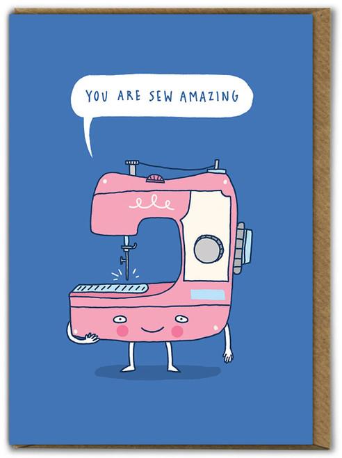 Sew Amazing Birthday Card