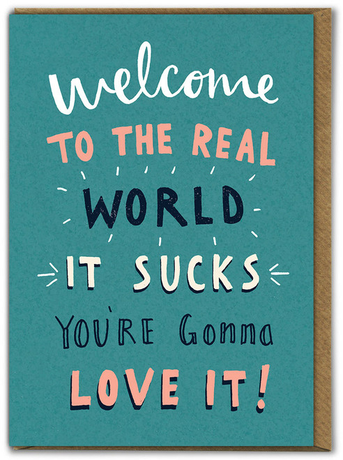 The Real World Birthday Card