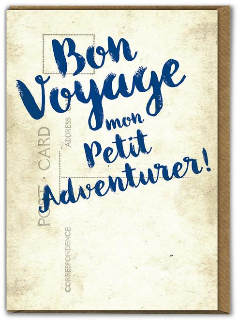 Petit Adventurer Bon Voyage Card