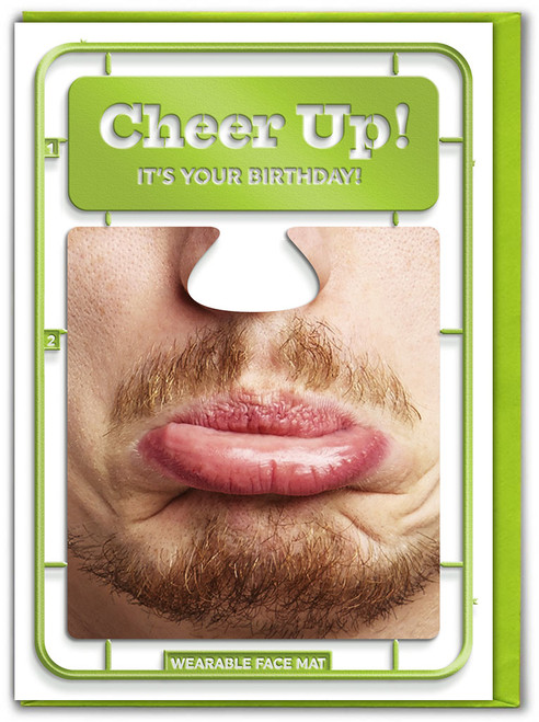 Cheer Up Birthday Card & Face Mat