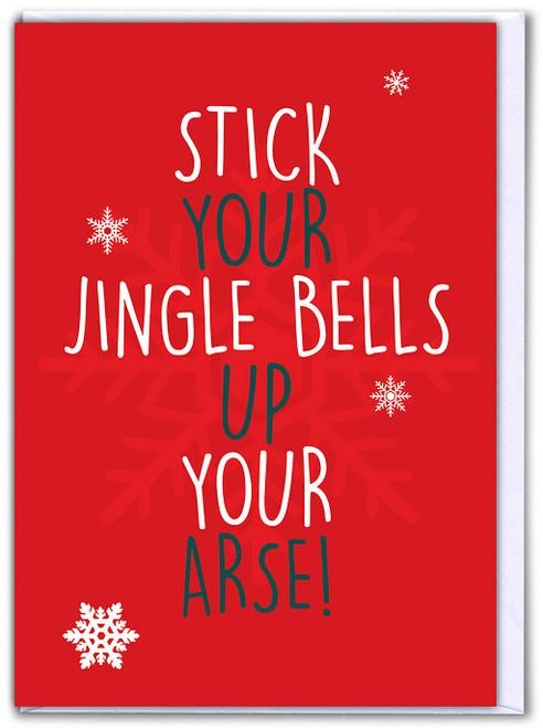 Stick Your Jingle Bells Christmas Card