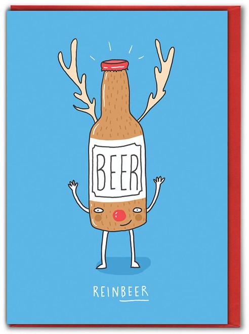 Reinbeer Christmas Card
