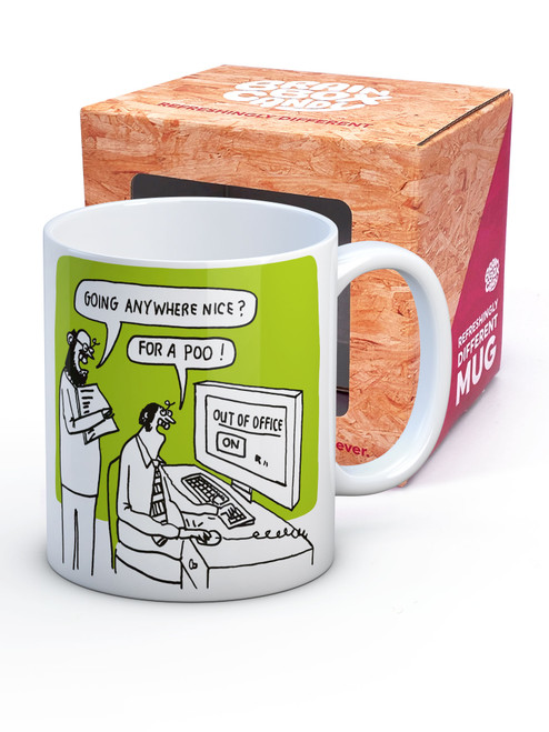 Out Of Office Boxed Mug