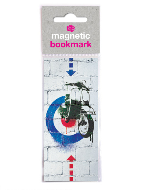 Scooter Mod Magnetic Bookmark