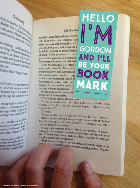 Gordon Magnetic Bookmark