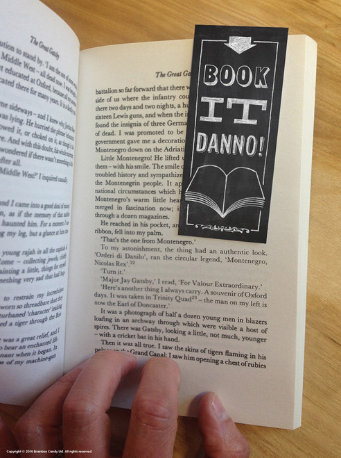 Book It Danno Magnetic Bookmark