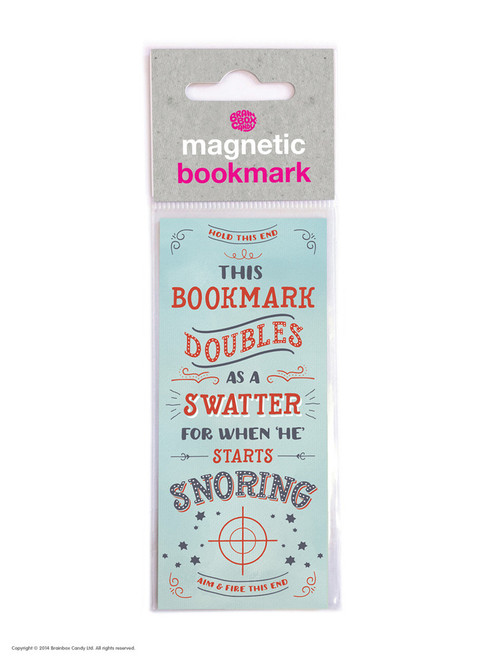 Swatter Magnetic Bookmark