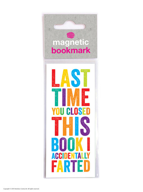 Magnetic Bookmark Fart