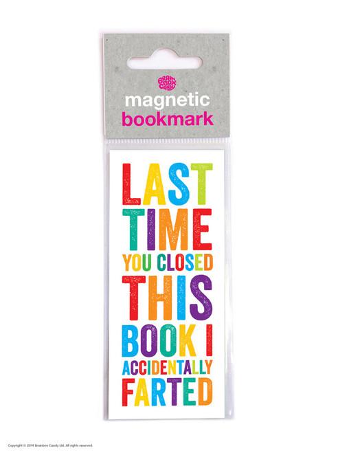 Magnetic Bookmark Fart