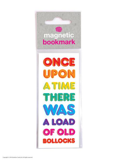 Old Bollocks Magnetic Bookmark